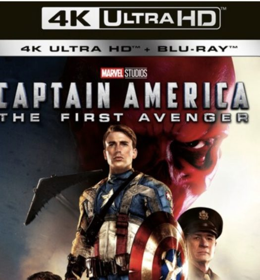 captain america the first avenger uhd 4k recension