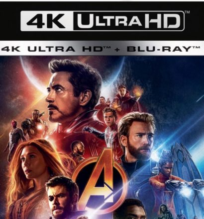 infinity war uhd recension