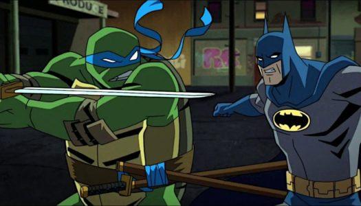 Tävling: Batman vs TMNT på Blu-ray