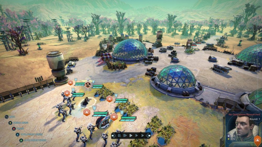 Age of Wonder: Planetfall - Screenshot Xbox-one