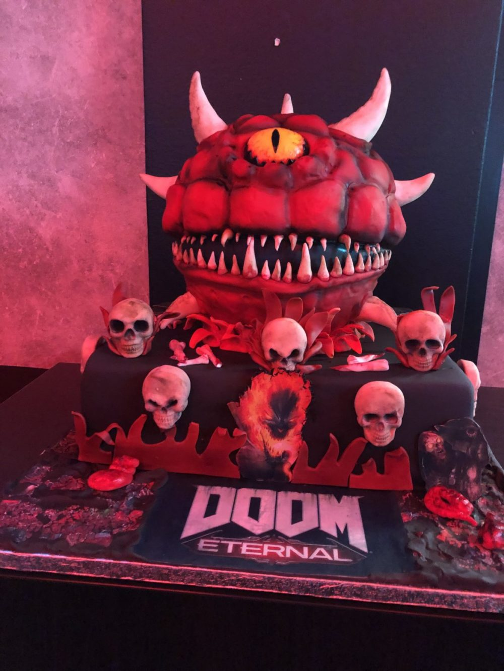 doom eternal tårta