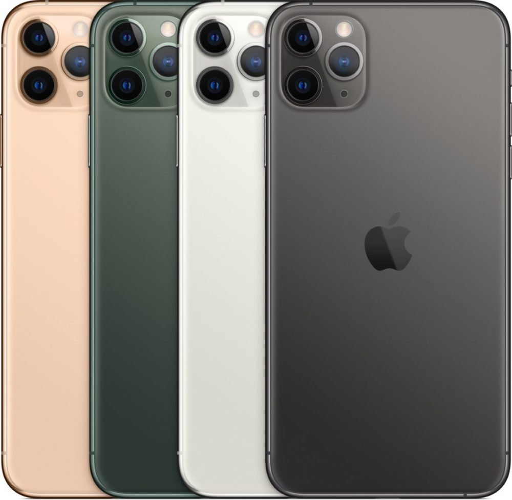 iphone 11 pro max färger