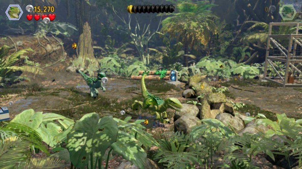 LEGO: Jurassic - screenshot - nintendo Switch