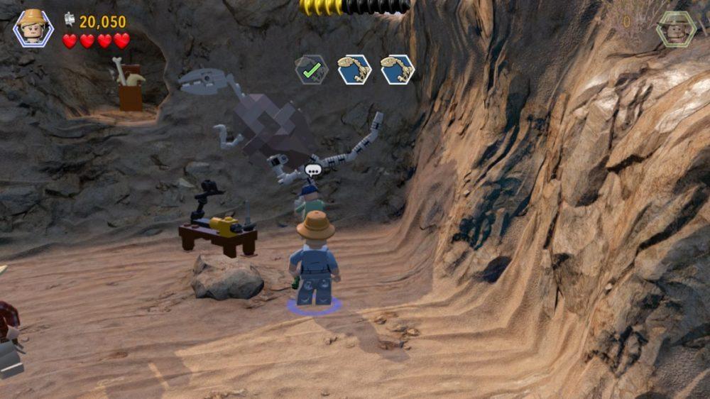 LEGO: Jurassic World - screenshot - nintendo Switch