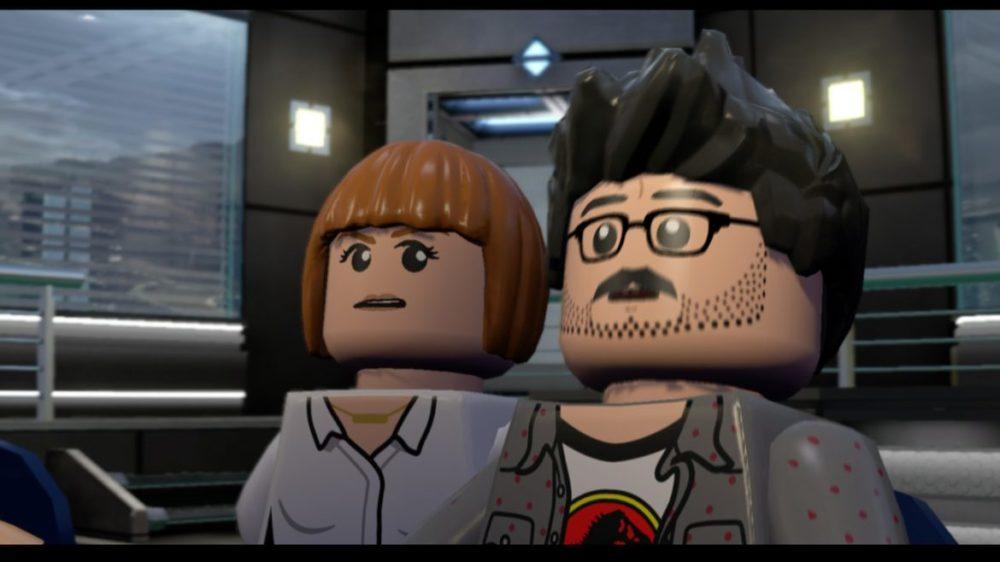 Jurassic Park LEGO Switch