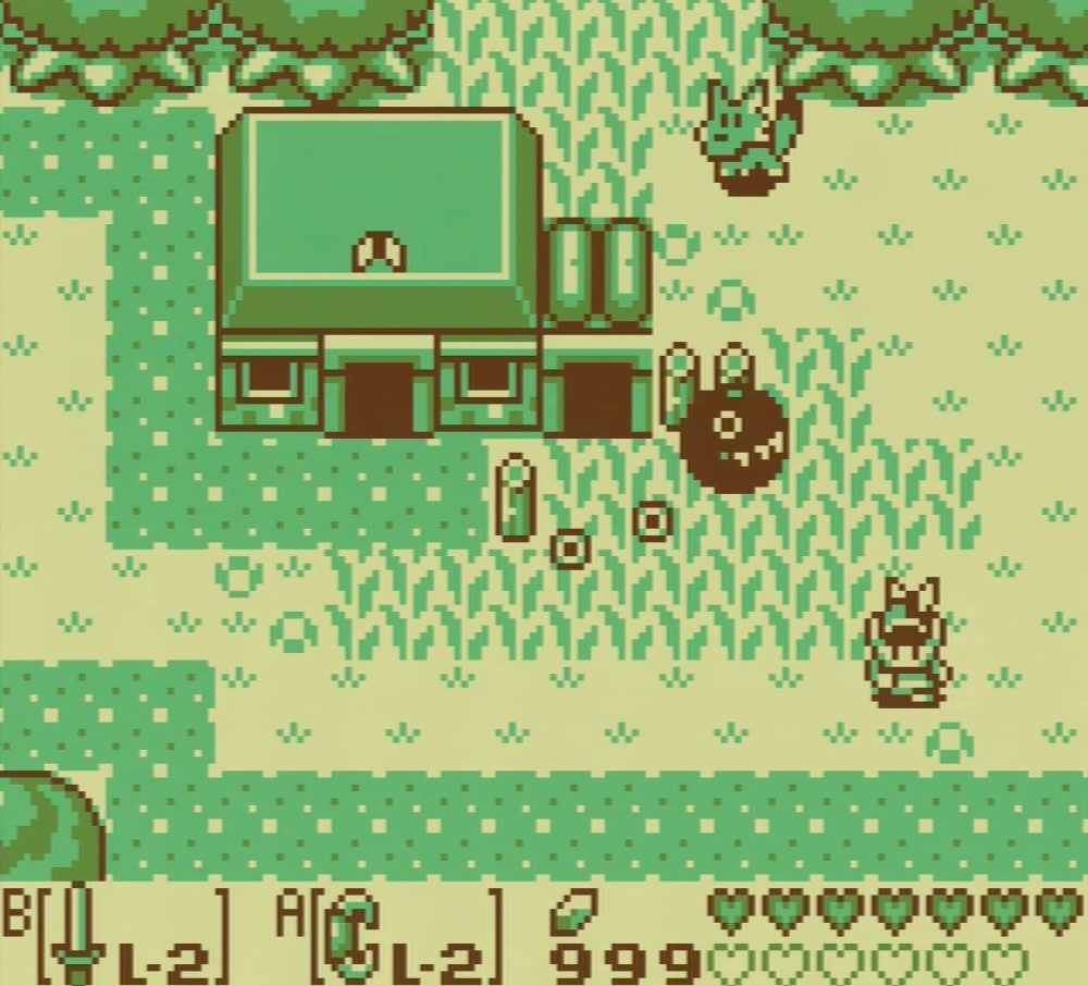 Link's Awakening 1993 game boy