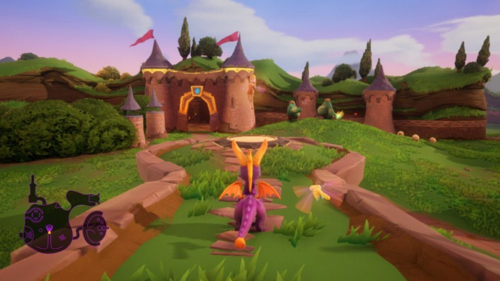 spyro reignited switch recension senses