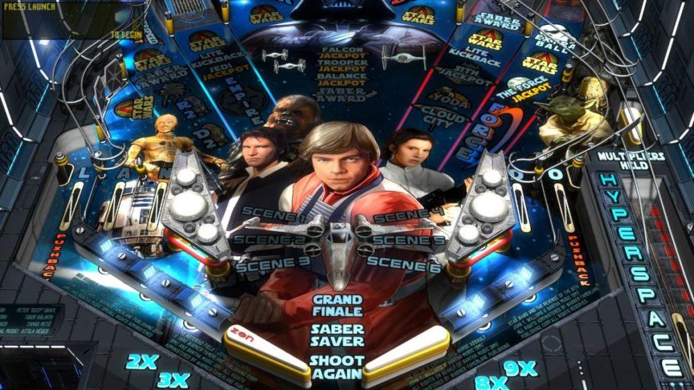 STAR WARS PINBALL - SCREENSHOT - NINTENDO SWITCH