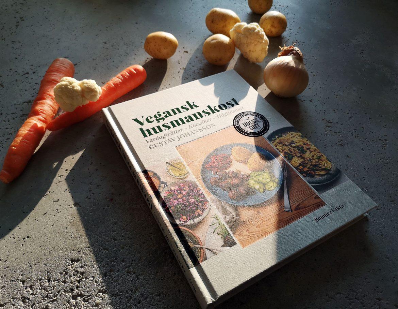 vegansk husmanskost med grönsaker