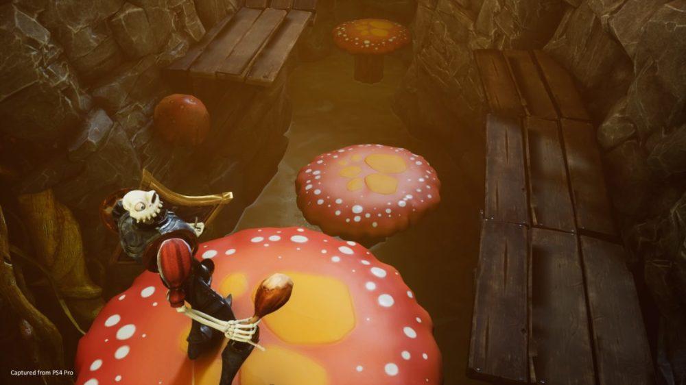 MediEvil giant mushrooms
