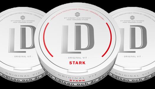 Test: Nya snussorter från LD – original vit/portion stark