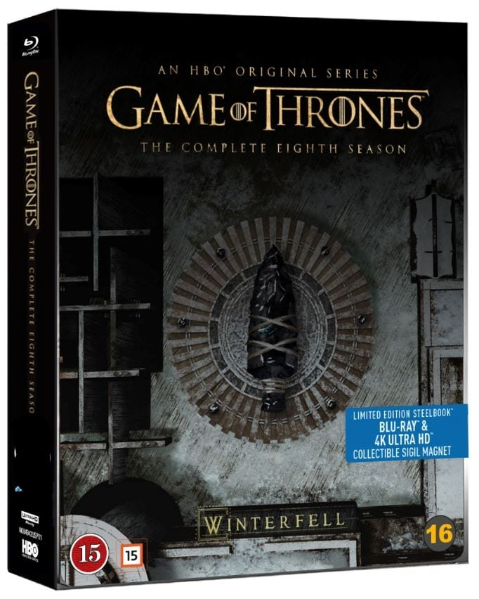 Steelbook Game of Thrones säsong 8 UHD 4K