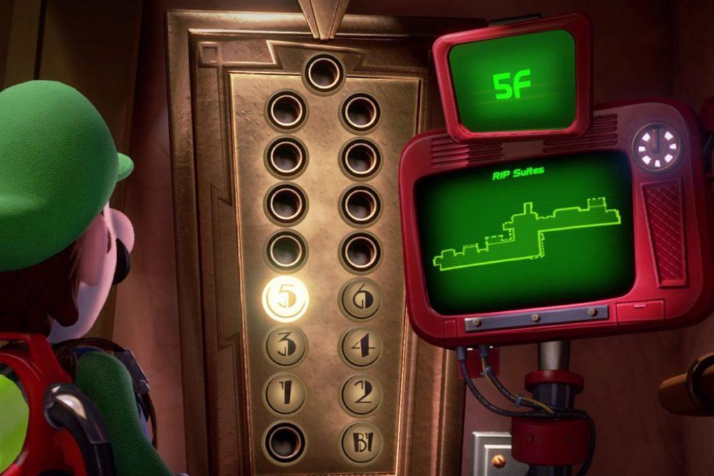 Luigi's Mansion 3 hissen