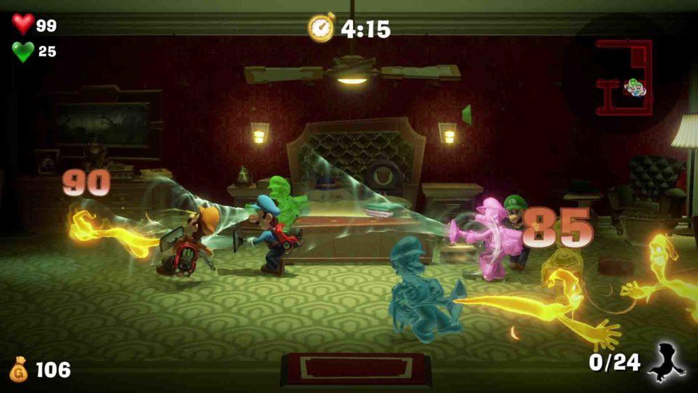 Multiplayer Luigis Mansion 3
