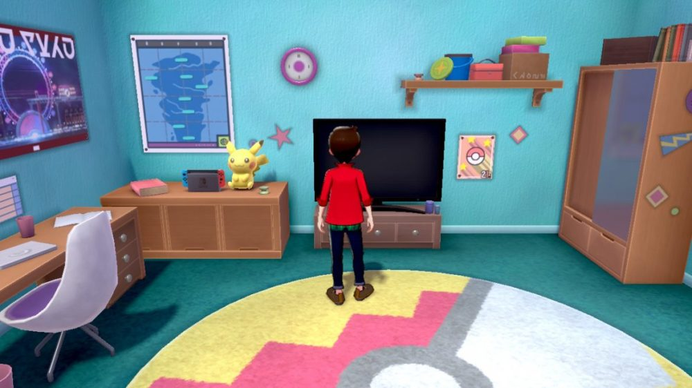 Pokémon Sword - Nintendo switch - copyright Nintendo - screenshot