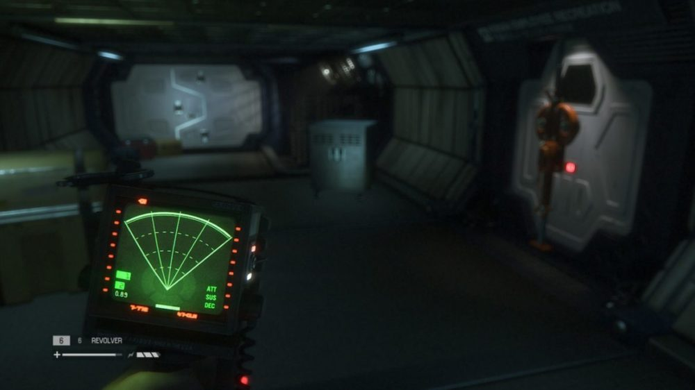 Alien Isolation - Screenshot Nintendo Switch
