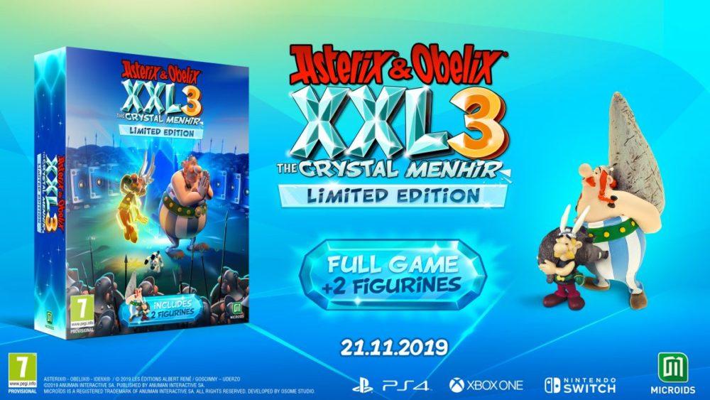 Asterix & Obelix XXL3 collectors edition