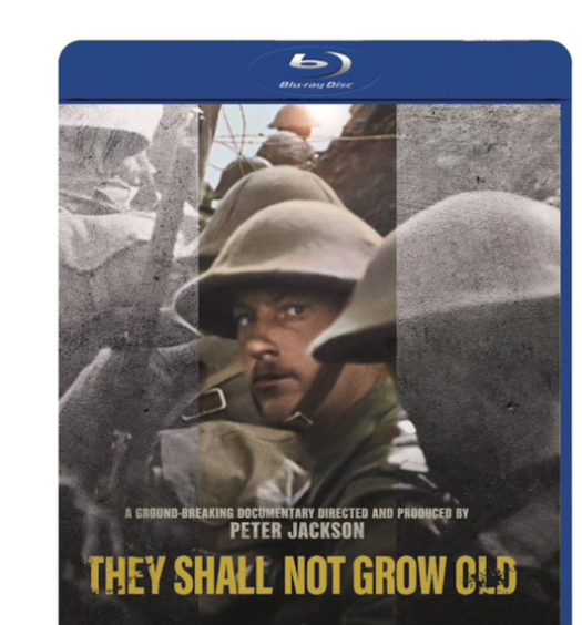 They Shall not Grow old Bluray omslag