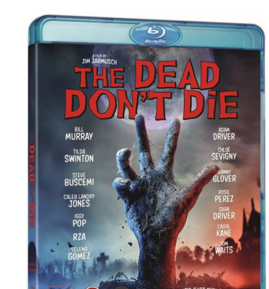 The Don´t die - Bluray omslag