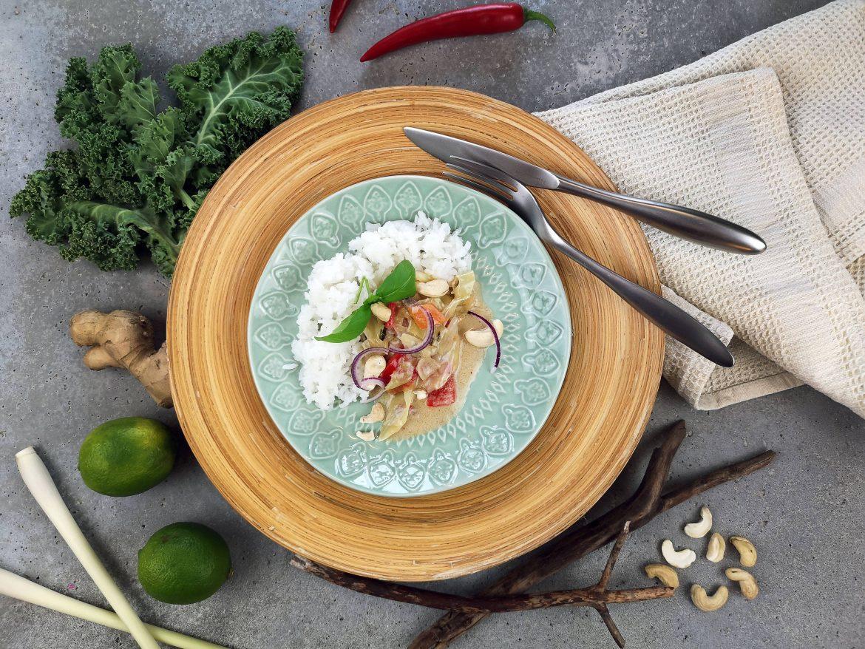 grönsakswok snabbt och enkelt