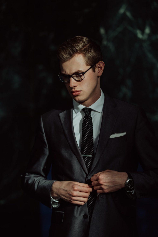 man med slips