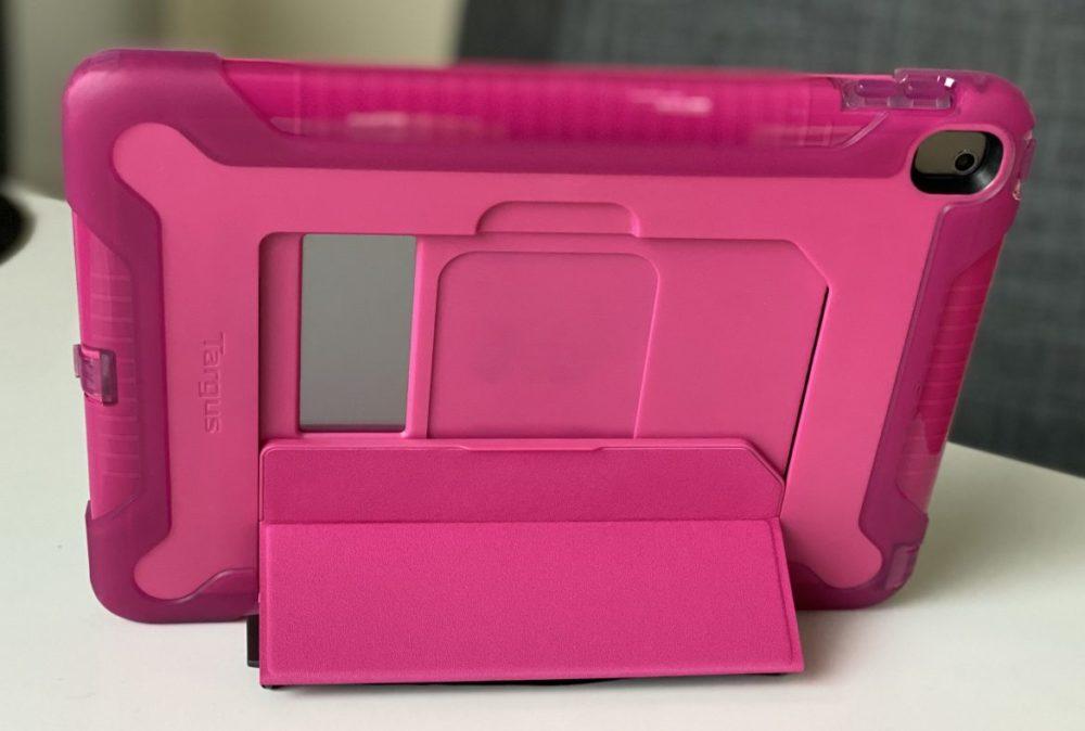 SafePort Rugged iPad Case pink back