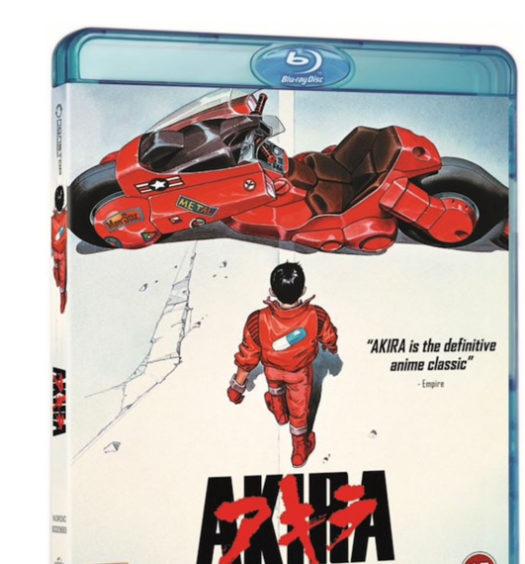 Akira - Bluray omslag