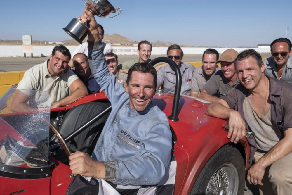 Christian Bale Ken Mills Le Mans 66 racing