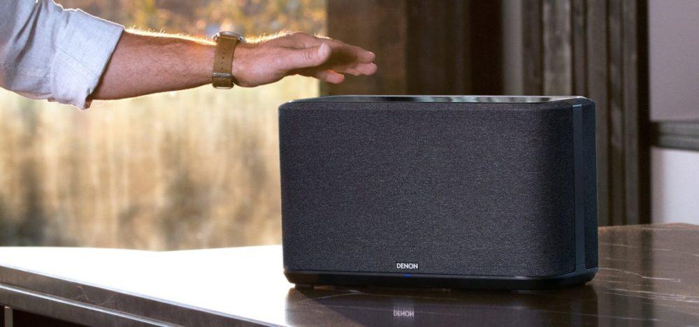 Denon 350 svart smarta högtalare