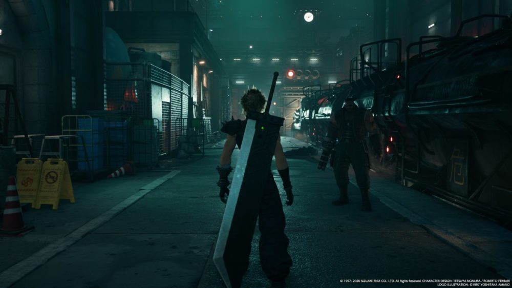 final Fantasy VII remake ps4