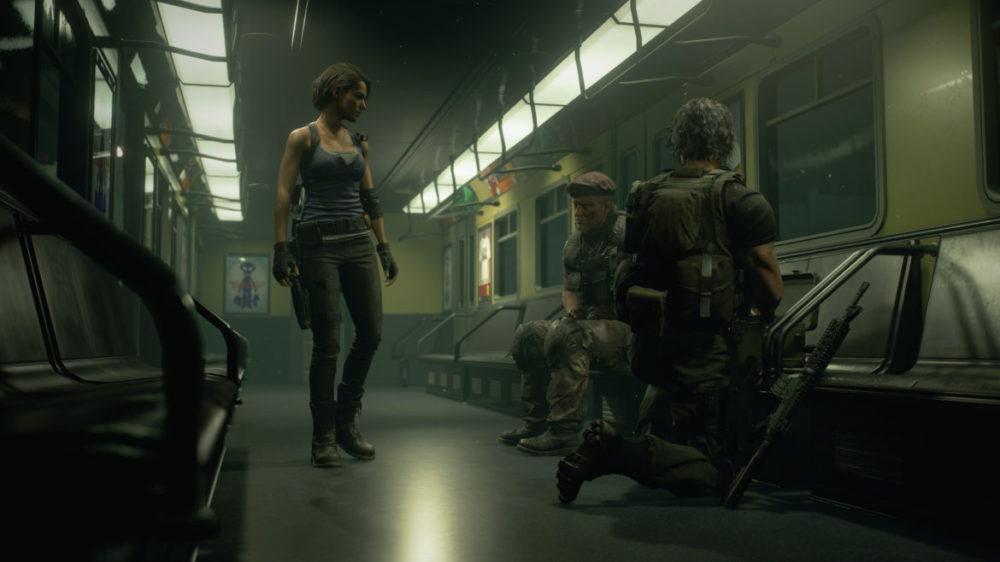 Resident Evil 3 Remake - Press bild - Copyright 2020 - Capcom