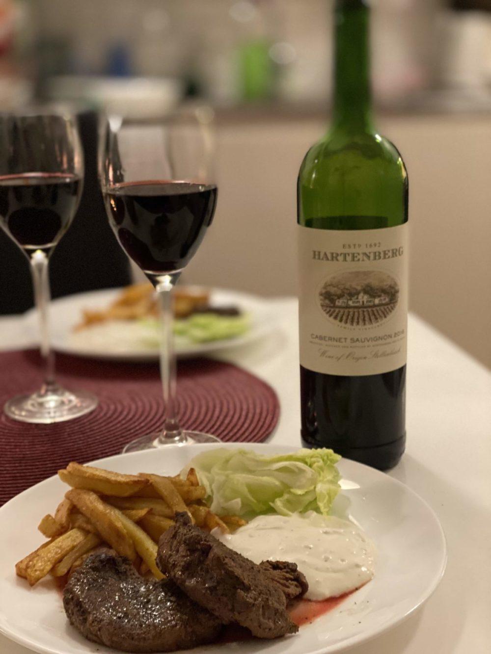 hartenberg cabernet sauvignon 2016 rödvin