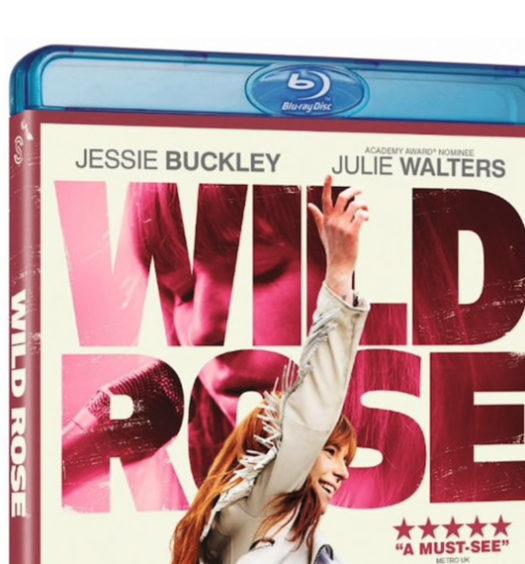 Wild Rose - Bluray omslag