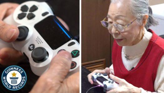 90-årig YouTube-gamer tar plats i Guiness Rekordbok