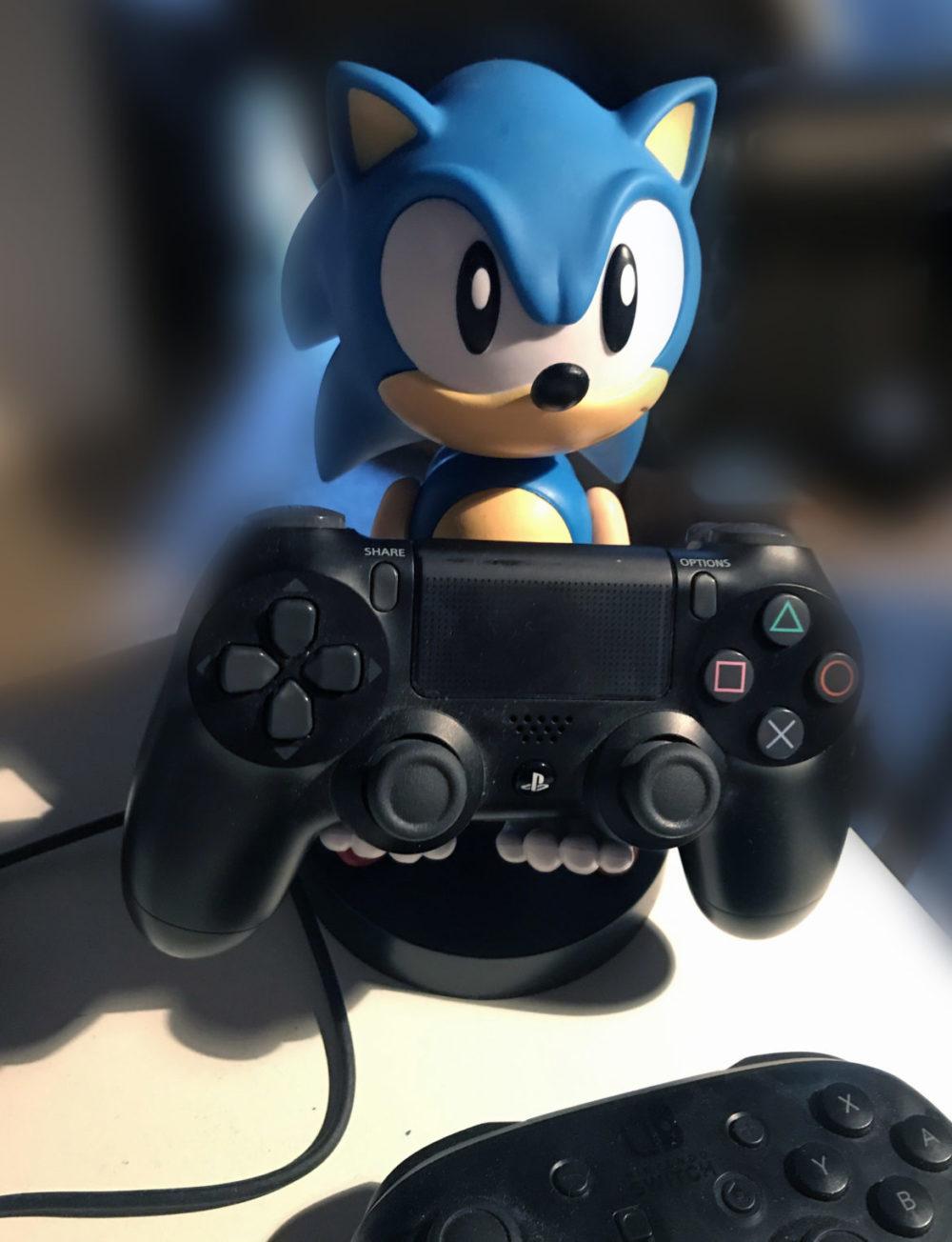 sonic staty playstation 4 dual shock kontroller