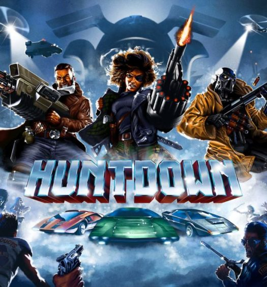 huntdown recension