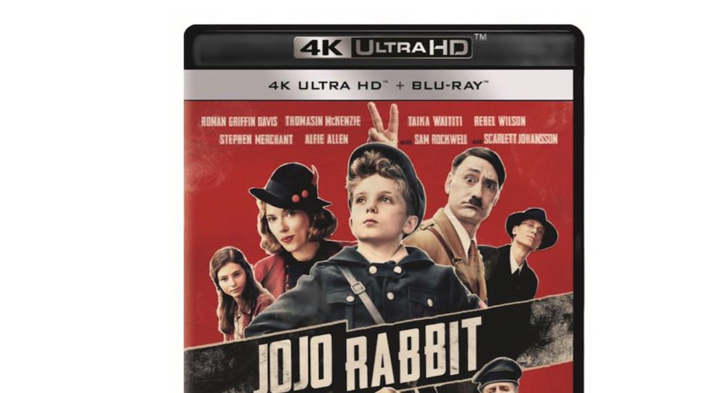 Jojo Rabbit - UHD omslag