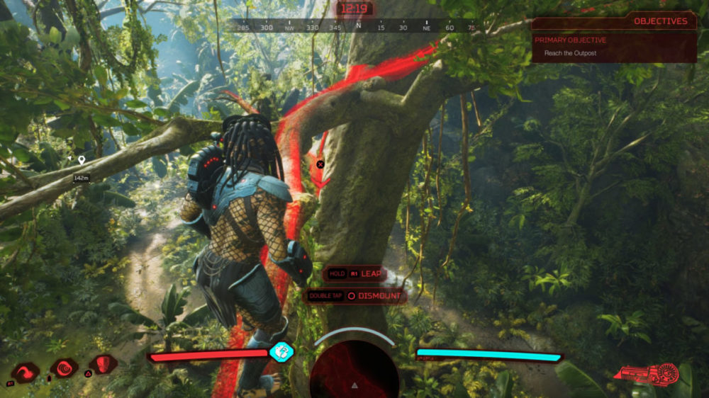 Predator Hunting Grounds - Screenshot Playstation 4 - Copyright 2020 - Illphonic