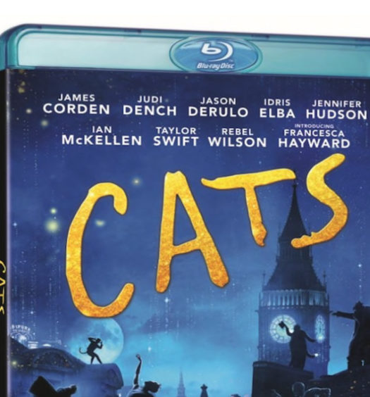 Cats - Bluray omslag
