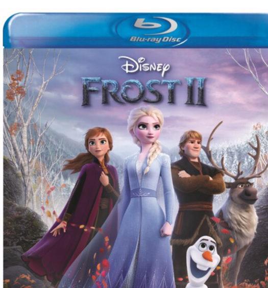 Frost II - Bluray omslag
