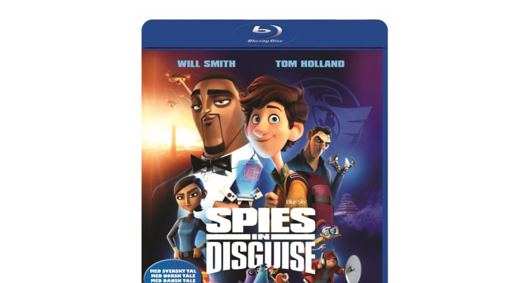 Spies in Disguise - Bluray omslag