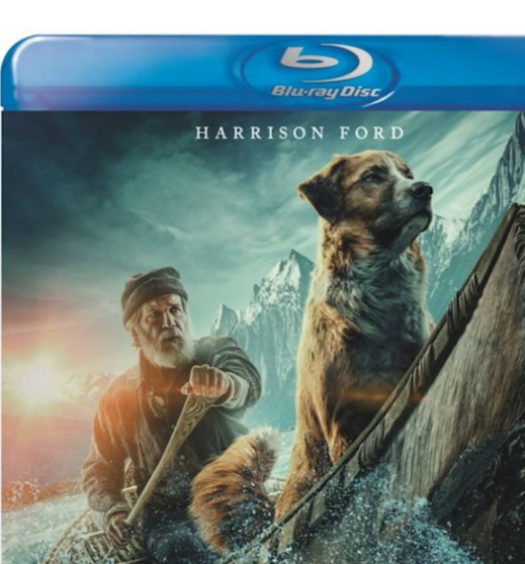 The Call of the Wild - Bluray omslag