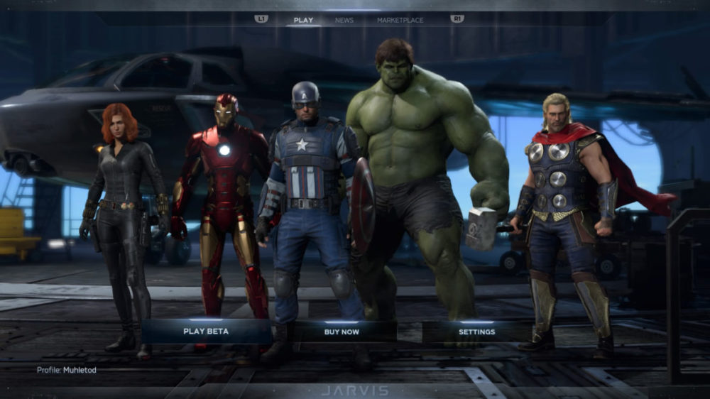 Marvel´s Avengers - Square Enix - screenshot Playstation 4 - copyright 2020