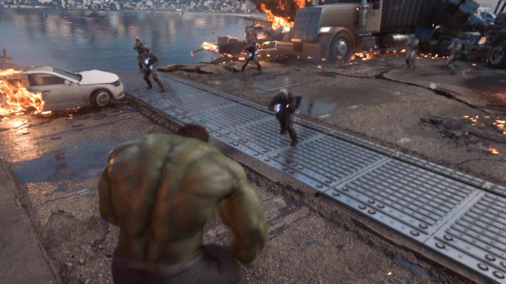 Marvel´s Avengers - Square Enix - screenshot Playstation 4 - copyright 2020