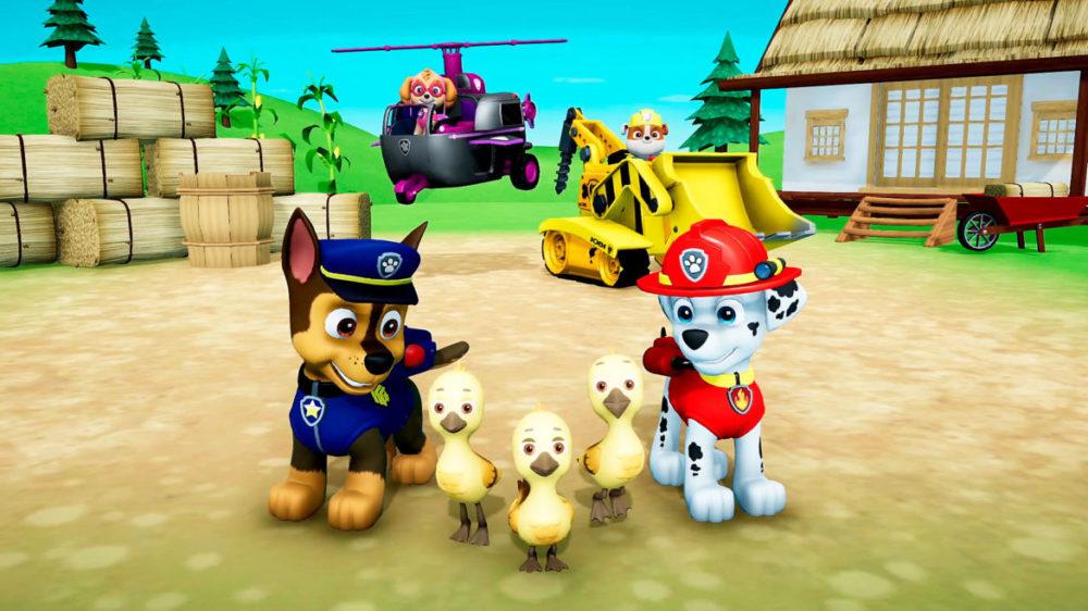 paw patrol ps4 spel för små barn