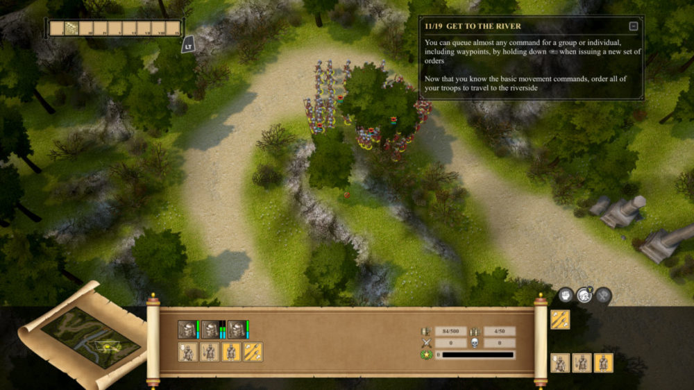 Commandos 2 och Praetorians: HD Remaster Double Pack - Pyro studios - screenshot Xbox one X 4K - copyright 2020