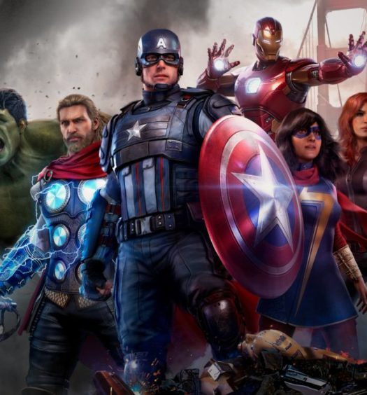 marvel avengers spelet recension