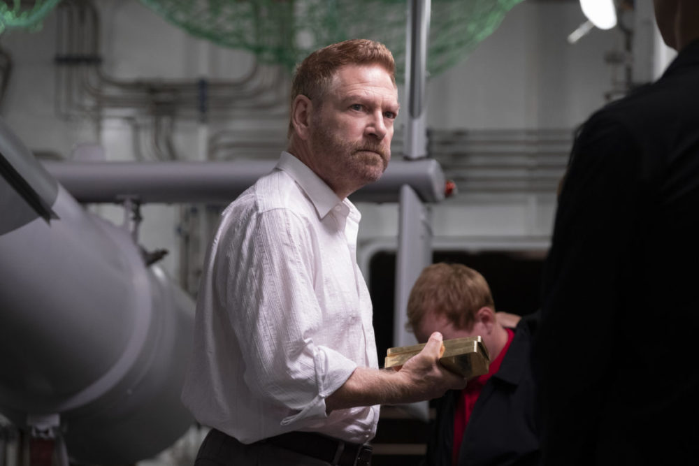 "KENNETH BRANAGH in Warner Bros. Pictures' action epic ""TENET,"" a Warner Bros. Pictures release. Photo by Melinda Sue Gordon"
