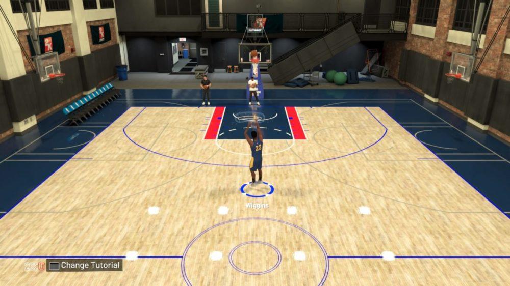 NBA 2K21 skott