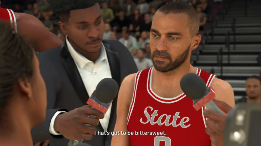 NBA 2K21 my career mode